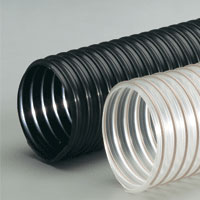 Heavy duty polyurethane flex hose for dust collection