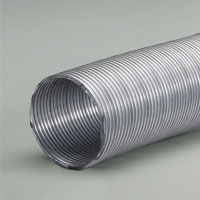 Galvanized steel dust collection flex hose