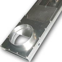 Pneumatic Fabricated Steel and Stainless Steel Blastgates